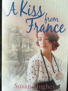 Book cover for 'A Kiss from France' by Susan Hughes