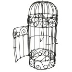 Illustration of a Victorian birdcage
