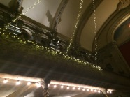 Picture of Wilton's Music Hall Balcony with fairly lights