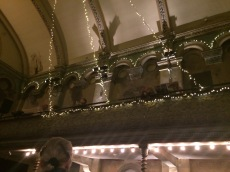 Picture of Wilton's Music Hall balcony